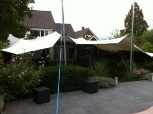 Freeform tent door Ronco Verhuur
